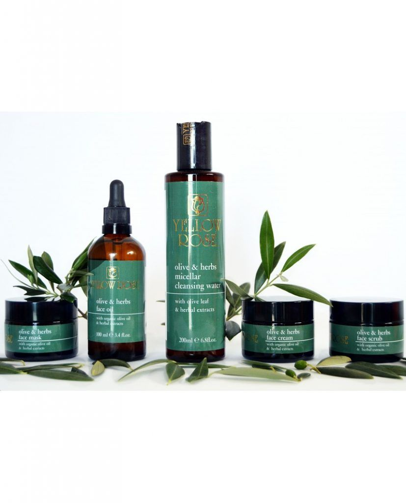 Olives & Herbs Micellar Cleasing Water pack