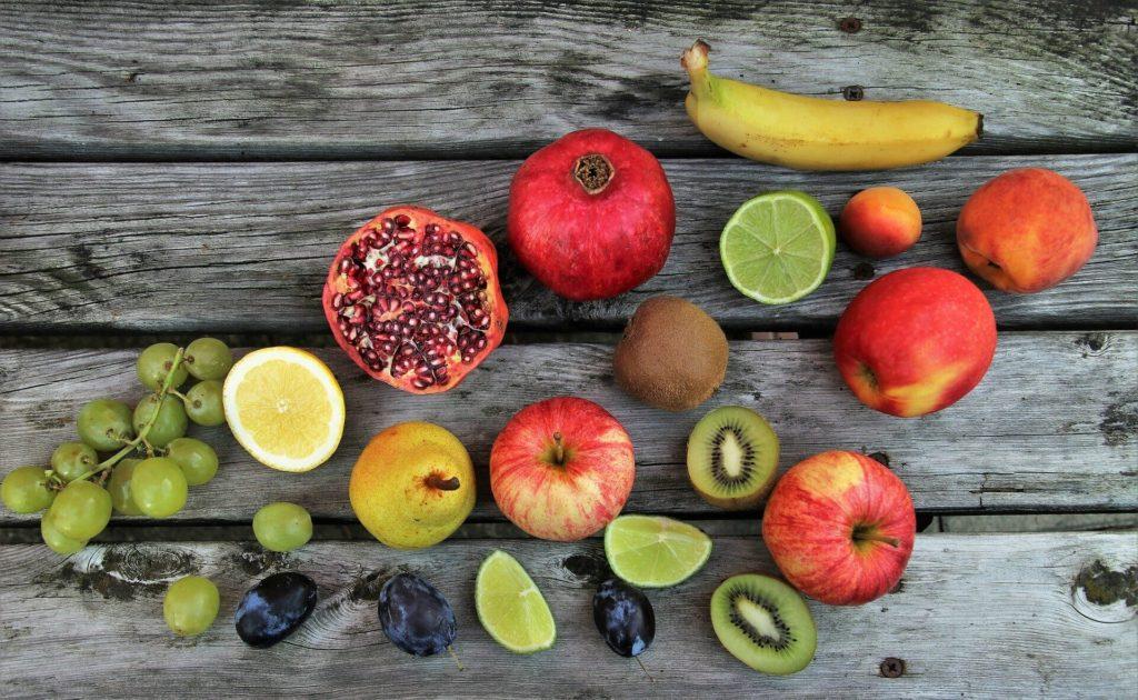 Frutas con Vitamina C